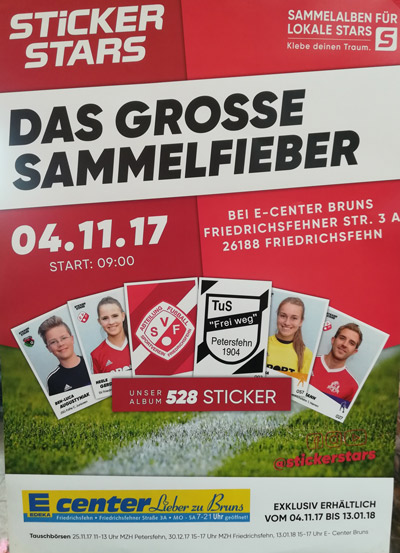 Stickerstarplakat